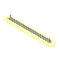 Verve II Suspended Linear Light Fixture